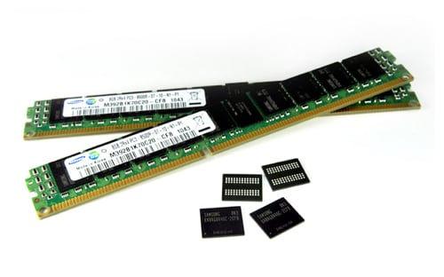 3D TSV 8GB DDR3 RDIMM 