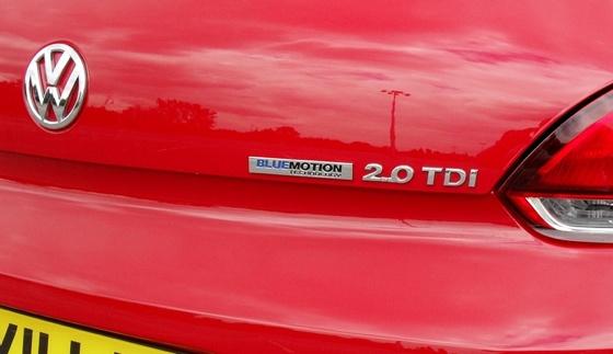 Volkswagen Scirocco BlueMotion Technology TDI 140