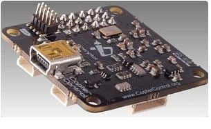 The CopterControl board