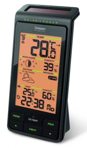 Oregon Scientific BAR808 Solar Weather Station Advanced
