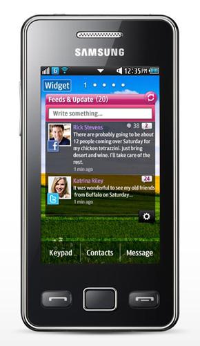 Samsung Tocco Icon S5260