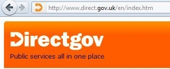 directgov firefox6 domain-conscious screengrab