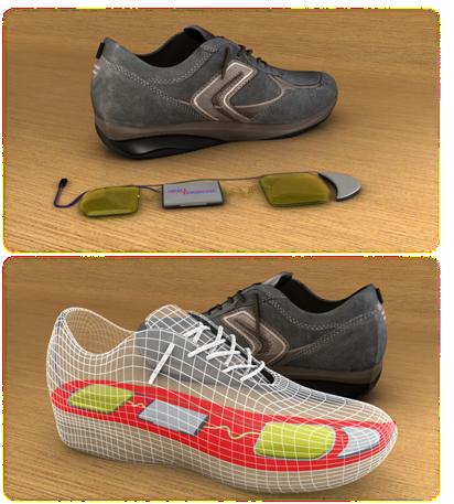 InStep NanoPower's gadget-powering shoe