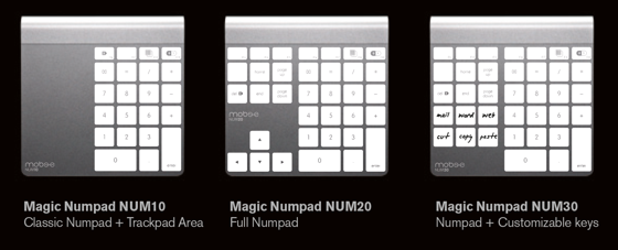 Mobee Magic Numpad accessory