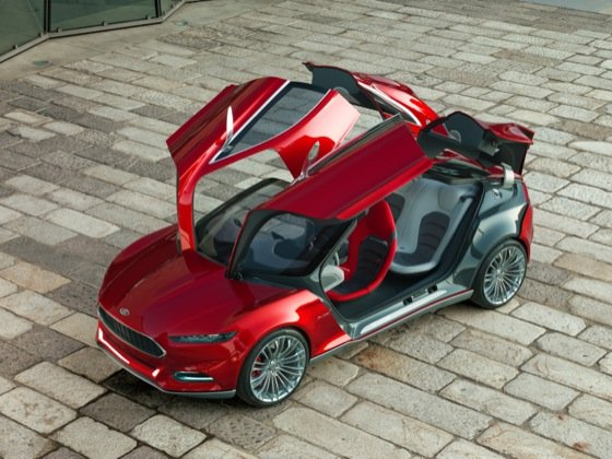 Ford Evos cloud-connected concept car