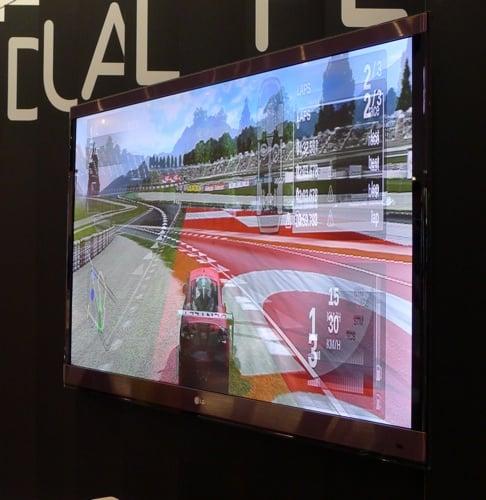 LG Cinema 3D TV Dual Play mode