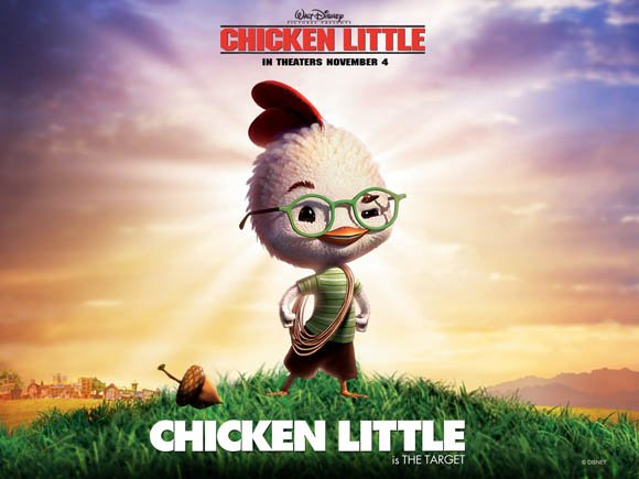 Chicken Little movie poster