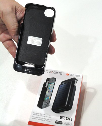 Eton Mobius iPhone 4 solar charger