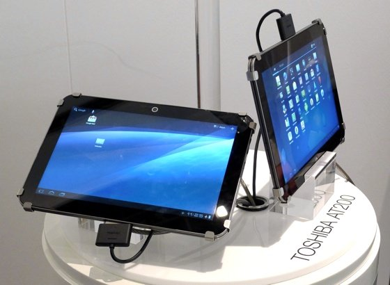 Toshiba AT200 Excite Android 3.2 tablet