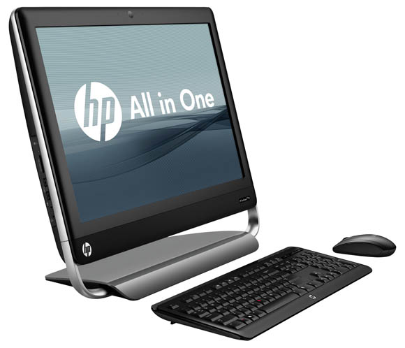 HP TouchSmart Elite 7320 All-in-One Business PC