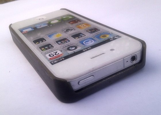 Paul Marsh's Steampunk iPhone 4 case