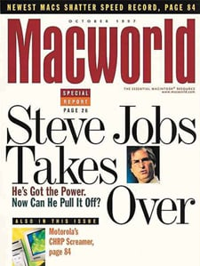 Macworld 1997 cover