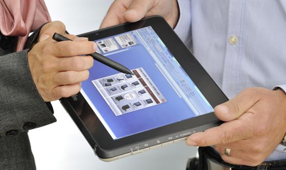 Fujitsu Stylistic Q550 Windows 7 tablet