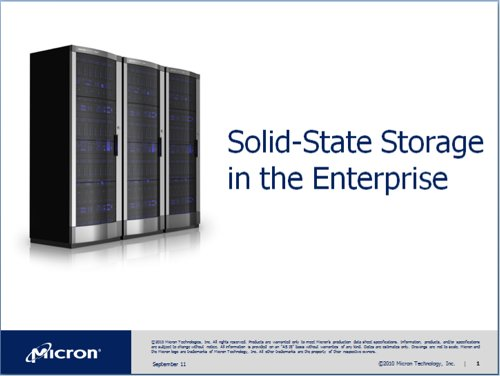 Micron Enterprise Storage