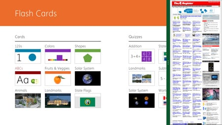Displaying apps side-by-side in Windows 8
