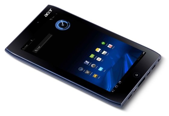 Acer Iconia A100 7in Android tablet