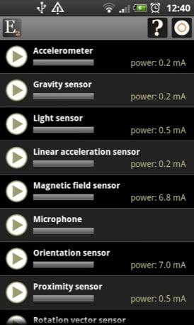 Elixir Android app screenshot