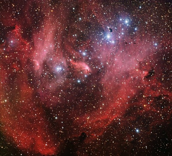 The Lambda Centauri Nebula. Credit: ESO