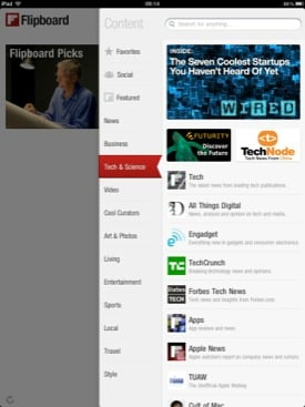 Flipboard iOS app icon