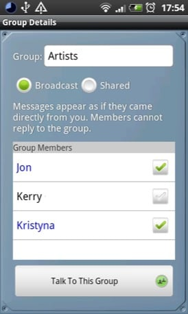 HeyTell Android screenshot