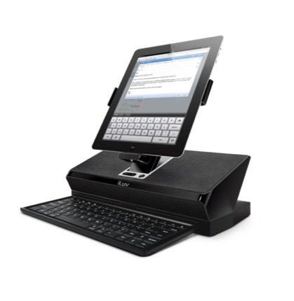iLuv iMM737 WorkStation iPad 2 desktop dock