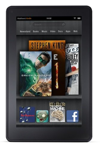 Amazon Kindle Fire e-book tablet