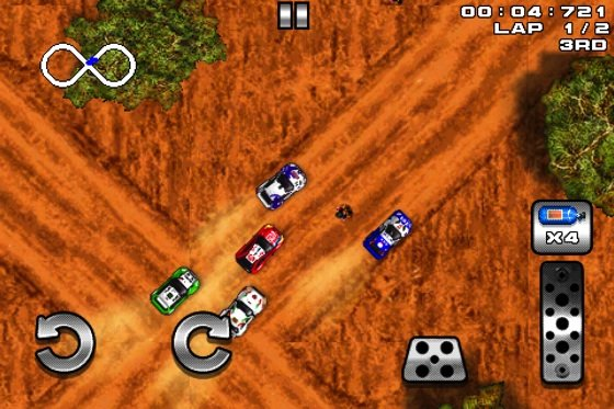 LilRacerz Pro Rally iOS game screenshot