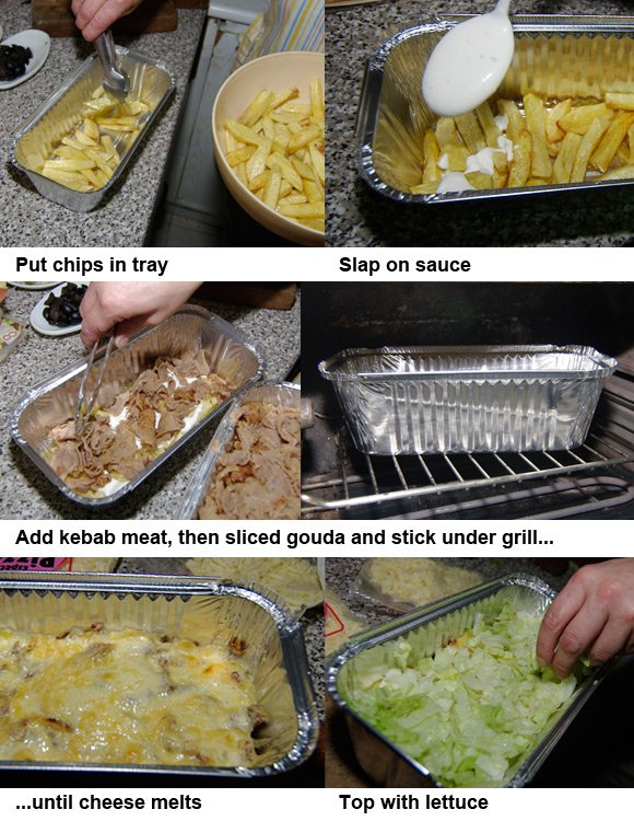 How to make kapsalon: