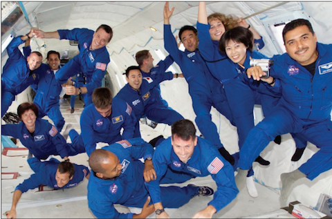 NASA astronauts, picture credit: NASA