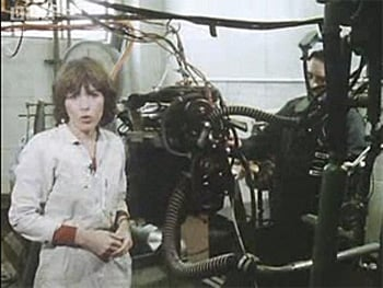 Maggie Philbin with machine2