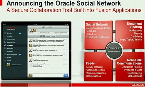 Oracle Social Network