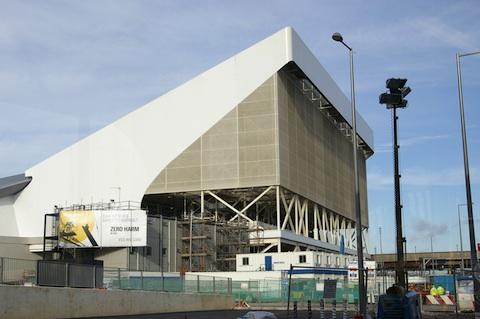 Zaha Hadid Olympic venue, credit The Register