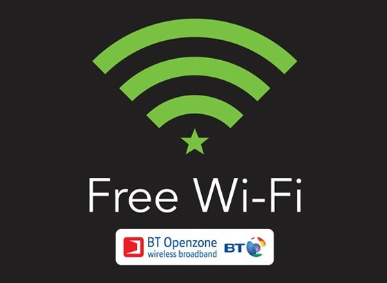 Starbucks free Wi-Fi UK