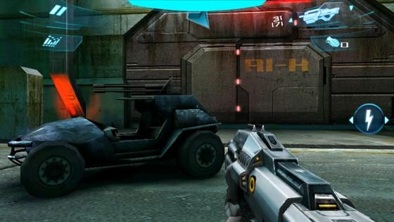 NOVA 2 Android game screenshot