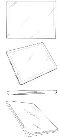 An Apple design patent application from 2004