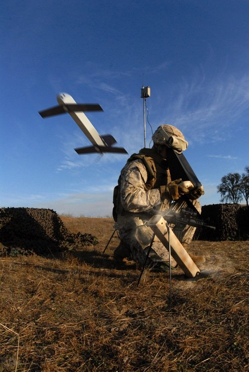 The Switchblade drone missile for the US Army. Credit: Ae