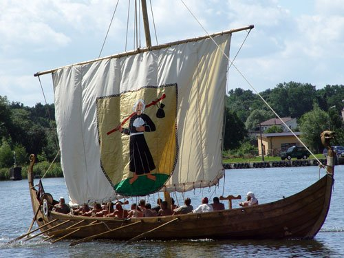 Viking longship