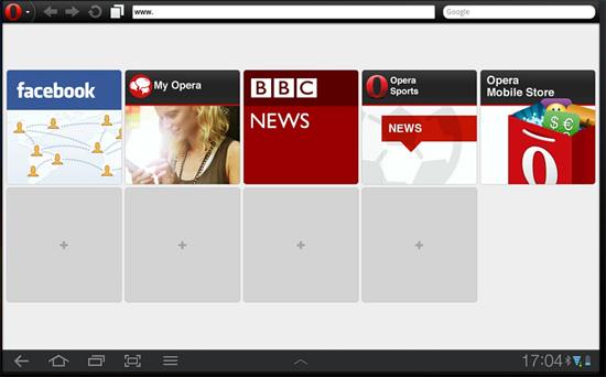 Opera Для Android Планшетов