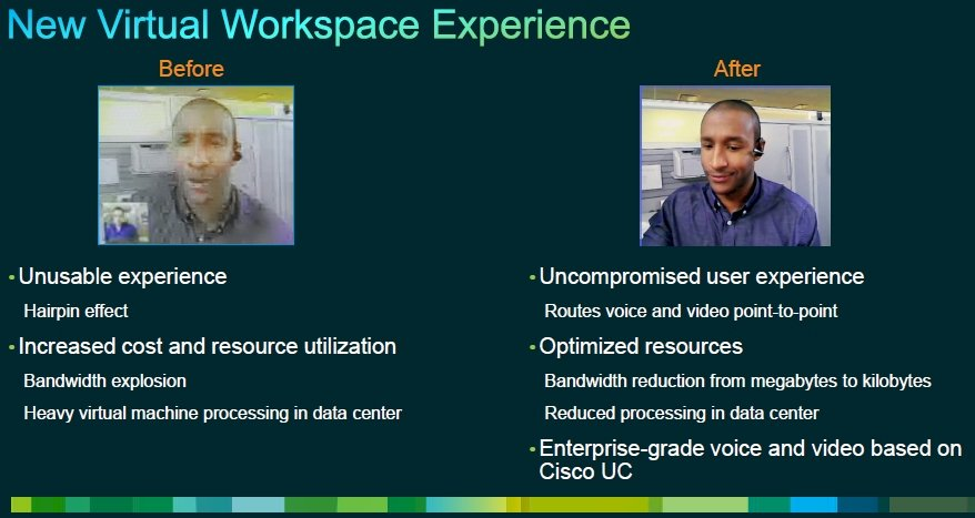 Cisco VXI workspace