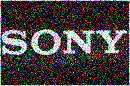 sony distorted logo