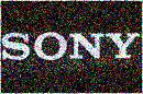 sony distorted logo