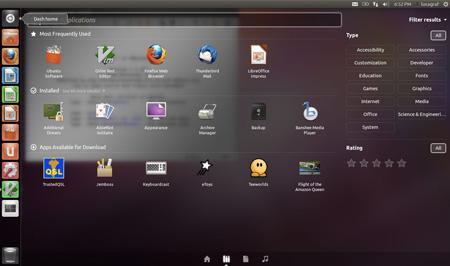 Ubuntu 11.10 lenses