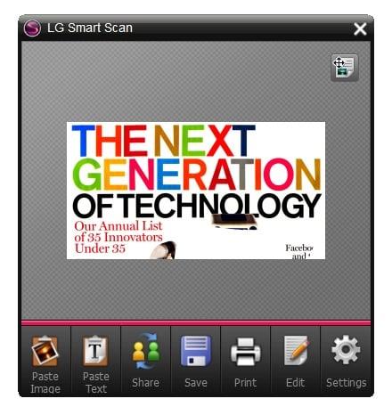 LG LSM-100 Mouse Scanner