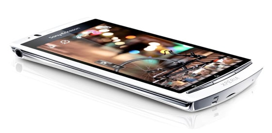 Sony Ericsson Xperia Arc S Android smartphone