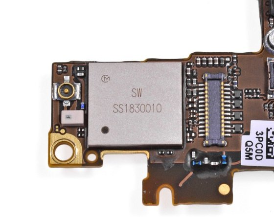 Apple iPhone 4S wireless chip