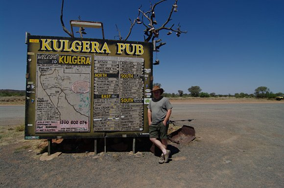 Lester Haines at Kulgera