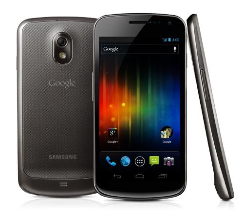 Samsung Google Galaxy Nexus Android 4.0 smartphone