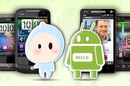 Android logo meets Chinese condom logo