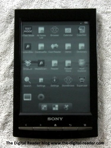 Android on the Sony Reader PRS-T1