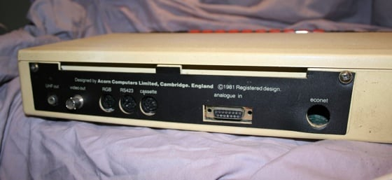 Underneath the BBC Micro